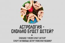 Как узнать с помощью астрологии, сколько будет детей?